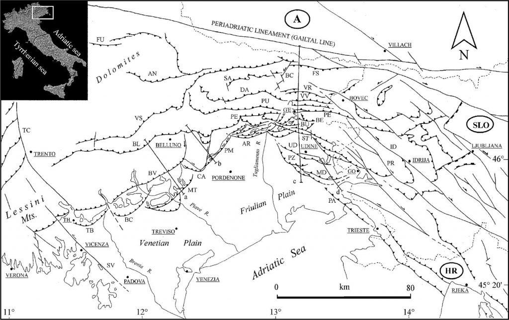 Modello strutturale Friuli