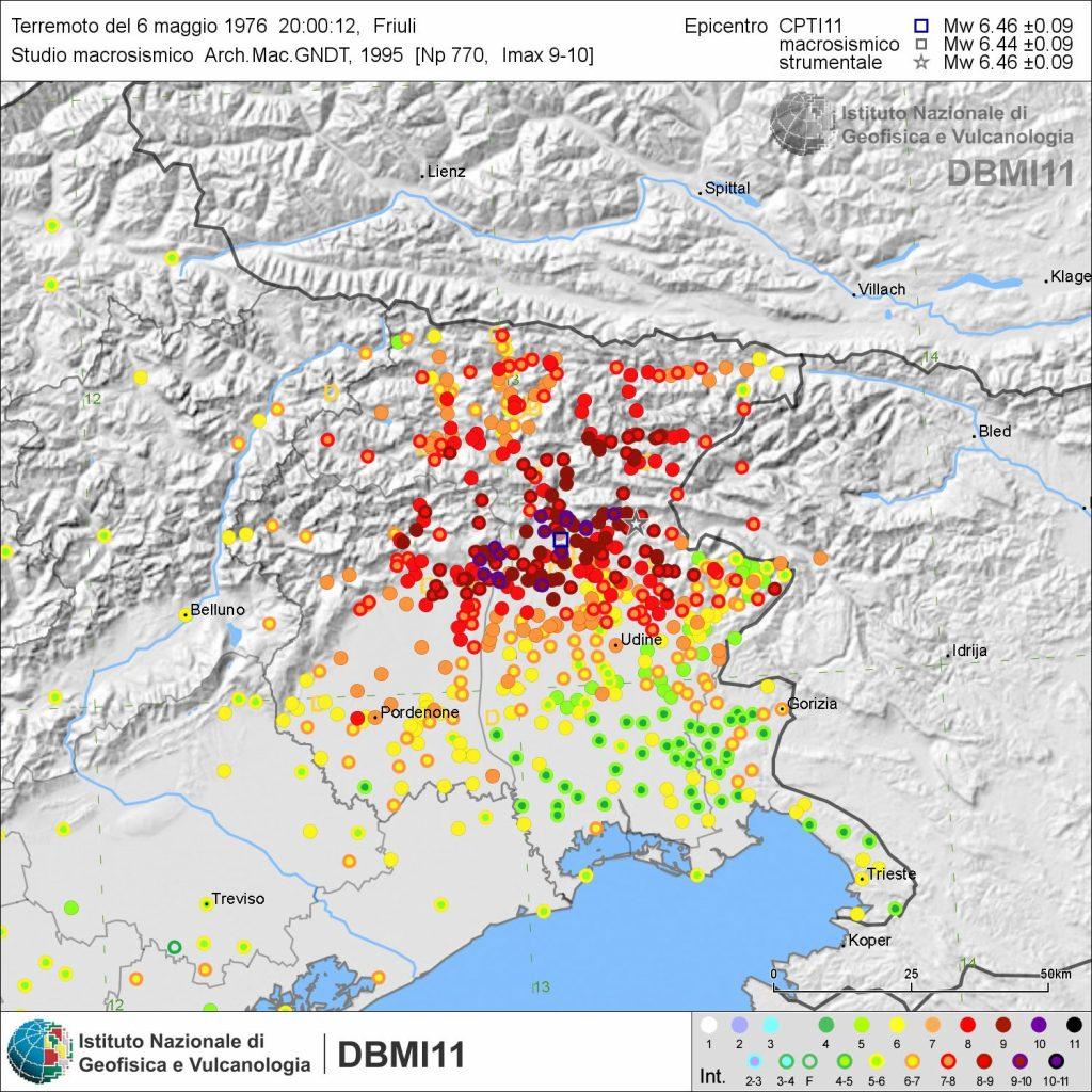 Terremoto Friuli Maggio