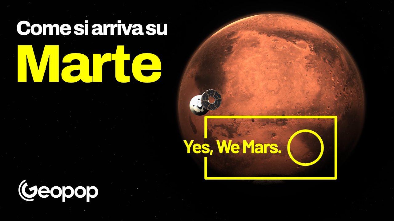 Come si arriva su Marte?